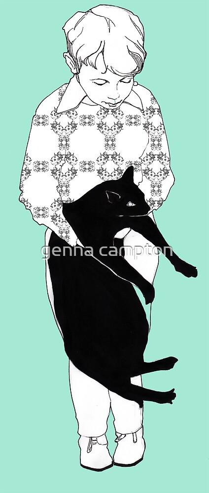Cat love by genna campton