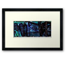 Rock Formations #1 Framed Print