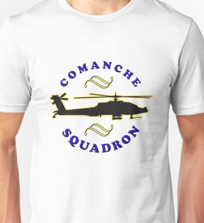 Comanche tee-shirt and stickers Unisex T-Shirt