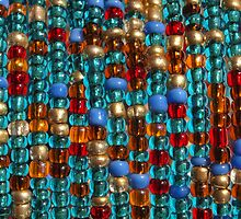 Beaded Curtain by Aileen David