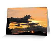 If earth is like this, who wants heaven? Greeting Card