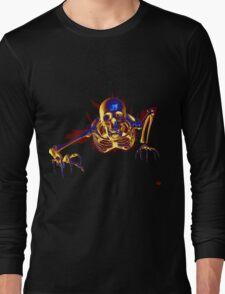 SKELTON/ BREAKING OUT Long Sleeve T-Shirt