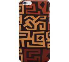 African Tribal Pattern No. 11 iPhone Case/Skin