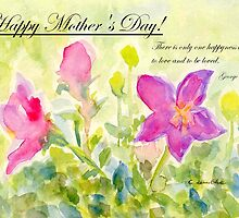 "Happy Mother's Day! ""Happyness"" by Caroline  Lembke"