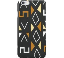 African Tribal Pattern No. 12 iPhone Case/Skin