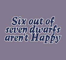 Six out of seven dwarfs aren't Happy Kids Clothes