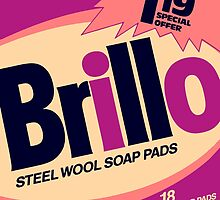 Brillo Box Package Colored 19 - Andy Warhol Inspired by peterpotamus