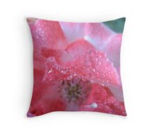 Bossy Boots Rose Throw Pillow