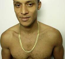 Carmelo with Gold Chain by Greg Evans