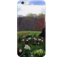 Springing Forward at Edgemont Golf Course iPhone Case/Skin