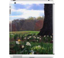 Springing Forward at Edgemont Golf Course iPad Case/Skin