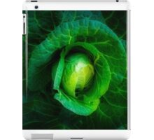 Cabbage with a healthy glow iPad Case/Skin
