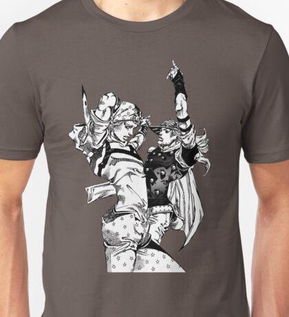 Steel Ball Run - Johnny Joestar and Gyro Zeppeli Unisex T-Shirt