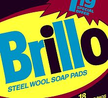 Brillo Box Package Colored 25 - Andy Warhol Inspired by peterpotamus