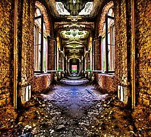 Abandoned House Interior Fine Art Print by stockfineart