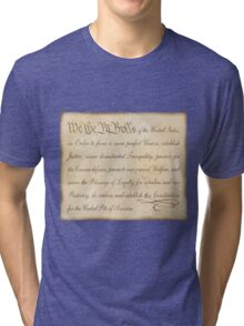 We the Pit Bulls... Tri-blend T-Shirt