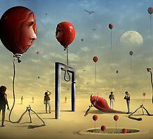 A Face dos Balões by Marcel Caram