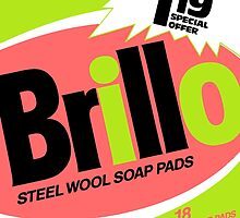 Brillo Box Package Colored 28 - Andy Warhol Inspired by peterpotamus