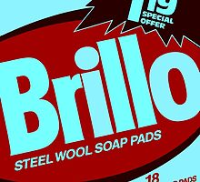 Brillo Box Package Colored 29 - Andy Warhol Inspired by peterpotamus