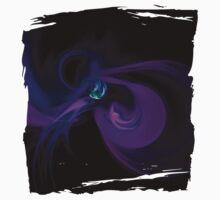Violet Flames Fractal Baby Tee