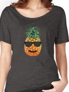 Smiley Pineapple Women's Relaxed Fit T-Shirt