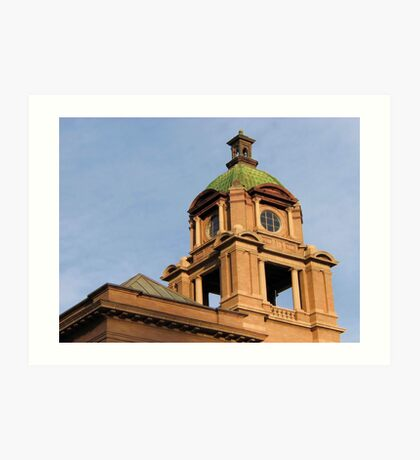 The Court House Tower Art Print