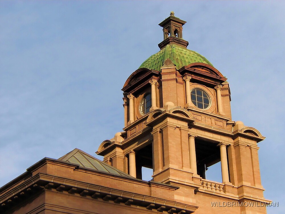 The Court House Tower by WILDBRIMOWILDMAN