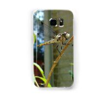 Great Blue Skimmer dragonfly (female) Samsung Galaxy Case/Skin