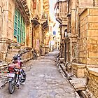 Jaisalmer Fort Street by Scootarts