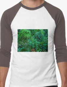 Greenery for Scenery - Otts Greenhouse - Schwenksville PA Men's Baseball ¾ T-Shirt