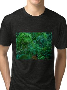 Greenery for Scenery - Otts Greenhouse - Schwenksville PA Tri-blend T-Shirt
