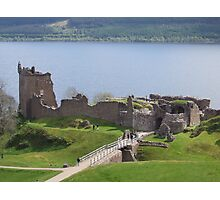 urquhart castle loch ness Photographic Print