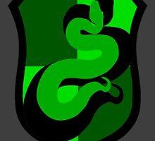 Slytherin Crest by Stepjump