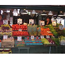 Color in Pike Place Market Photographic Print