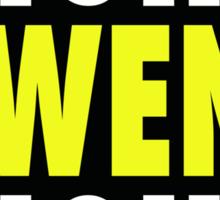 Fight Owens Fight Sticker