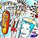 Hot Dog on a Stick! by Russell Pierce