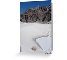 Life grows here Greeting Card