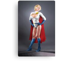 Power Girl Canvas Print