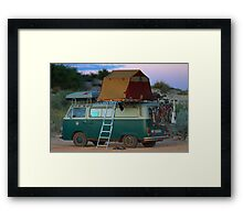 Wheres the kitchen sink? Framed Print