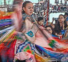 Fancy Shawl  Dance (Pow Wow Series) by Dyle Warren