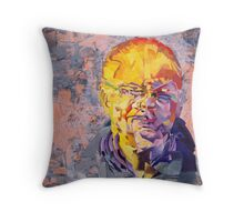 Skin deep, paper thin. Throw Pillow