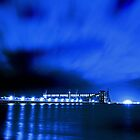 Kwinana Grain Jetty At Night  by EOS20