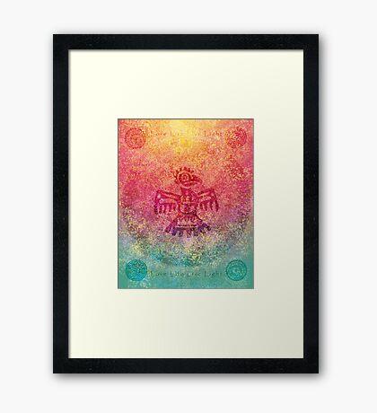 Mayan Sunrise Framed Print