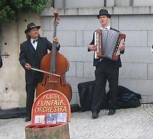 Prague Funfare Orchestra by Bruce Lund