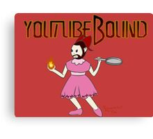 Youtubebound Wade Canvas Print