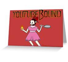 Youtubebound Wade Greeting Card
