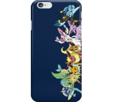 pokemon eevee espeon umbreon sylveon glaceon chibi anime shirt iPhone Case/Skin