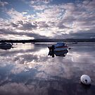 North Wales: Reflections of Borth-y-Guest by Angie Latham