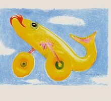 Flying Fish      2darts,  by Ian Farnbach