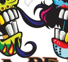 Dia de Los Muertes Sticker